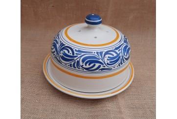 Quesera grecas azul