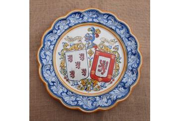 Plato heraldico 40cm