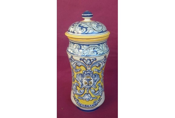 Albarelo 30cm decorado en renacimiento